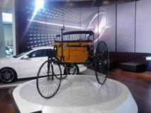 Mercedes-Benz-modellen Stock Foto's