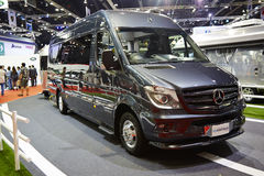 Mercedes benz modify car by airstream on display at The 36 th Ba Stock Image