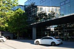 Mercedes Benz Munich in München royalty-vrije stock afbeelding