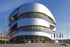 Mercedes Benz Museum Royalty Free Stock Photos