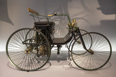 Mercedes Benz Museum Royalty-vrije Stock Afbeeldingen