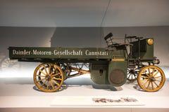 Mercedes Benz Museum Royalty-vrije Stock Foto's