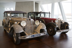 Mercedes Benz Museum Stock Foto