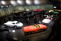 Mercedes Benz Museum Stock Images