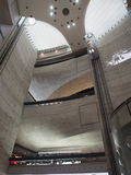 Mercedes-Benz Museum atrium Royalty Free Stock Image