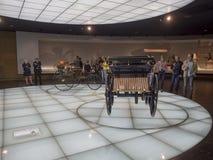 Mercedes-Benz Museum stock photo