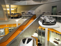 Mercedes-Benz Museum Royalty Free Stock Photography