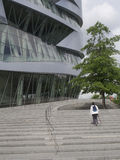 Mercedes-Benz Museum building Stock Photo