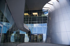 Mercedes benz museum from stuttgart Royalty Free Stock Photography