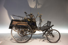 Mercedes Benz Museum Stock Photo