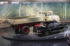Mercedes Benz Museum Royalty Free Stock Images