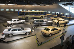 Mercedes Benz Museum Royalty Free Stock Photography