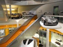 Mercedes-Benz muzeum Fotografia Royalty Free