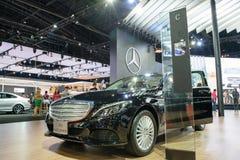 Mercedes-Benz na 36th exposição automóvel internacional 2015 de Banguecoque Foto de Stock