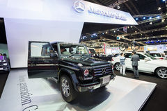 Mercedes Benz new G Class on display Stock Photos