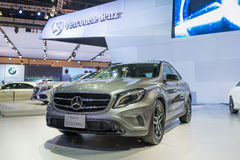 Mercedes Benz new GLA Class on display Stock Photography