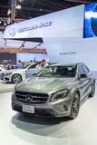 Mercedes Benz new GLA Class on display Royalty Free Stock Photography