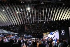 Mercedes-Benz 2018 novo na exposição na feira automóvel internacional norte-americana Foto de Stock Royalty Free