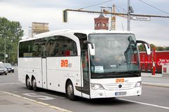 Mercedes-Benz O580-16RHD Travego Stock Photography