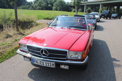 Mercedes Benz Oldtimer Stock Photos