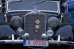 Mercedes-Benz oldtimer samochód Zdjęcia Stock