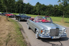 Mercedes Benz Oldtimer Royalty Free Stock Photo