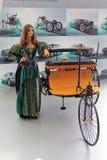 Mercedes-Benz Patent-Motorwagen Model 3 (1886-1894 Stock Images