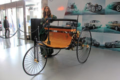 Mercedes-Benz Patent-Motorwagen Model 3 (1886-1894 Royalty Free Stock Photos