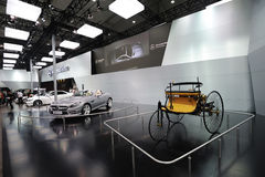 Mercedes benz  pavilion Stock Photography