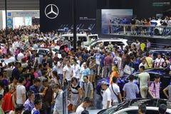 Mercedes benz pavilion Stock Image