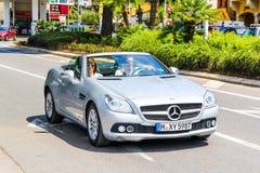 Mercedes-Benz R172 SLK-class Royalty Free Stock Image