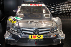 Mercedes-Benz race car Royalty Free Stock Images