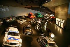 Mercedes-Benz raceauto's Stock Foto's