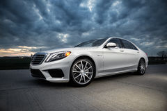 2015 Mercedes-Benz S63 AMG Obraz Royalty Free