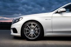 Mercedes-Benz 2015 S63 AMG Imágenes de archivo libres de regalías