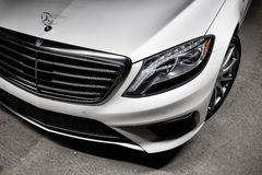 2015 Mercedes-Benz S63 AMG Stock Foto