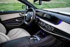 Mercedes-Benz 2015 S63 AMG Immagine Stock Libera da Diritti