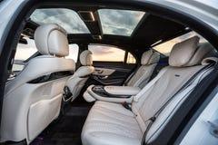 Mercedes-Benz 2015 S63 AMG Immagini Stock Libere da Diritti