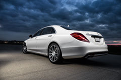 2015 Mercedes-Benz S63 AMG Stock Image