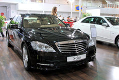Mercedes-Benz S-class Royalty Free Stock Image
