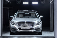 Mercedes Benz S-Class at the IAA 2015 Stock Photo