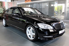 Mercedes-Benz S-class (S 500) Royalty Free Stock Image