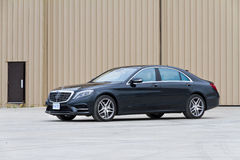 Mercedes-Benz S-Class 2013 The Top Model Sedan Stock Images