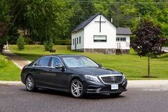 Mercedes-Benz S-Class 2013 The Top Model Sedan Stock Photo