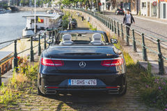 Mercedes-Benz S500 Convertible Royalty Free Stock Photography