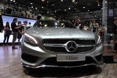 Mercedes Benz S-grupp på AMIEN Leipzig Tyskland Royaltyfri Bild