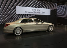 2016 Mercedes-Benz-s-Klasse Maybach Stock Afbeelding