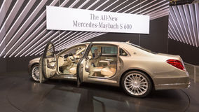 2016 Mercedes-Benz-s-Klasse Maybach Royalty-vrije Stock Foto's
