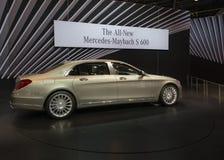 Mercedes-Benz 2016 S-klassemaybach Stockbild