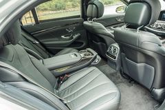 Mercedes-Benz S 500 2018 Seat arrière photo stock